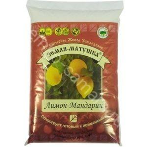 """Земля-Матушка Лимон-Мандарин, НВП """"БашИнком"""", 3,5 л."""