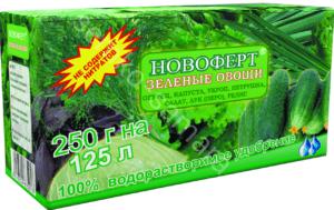 Новоферт Зеленые овощи