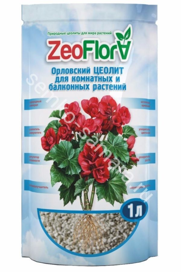 ZeoFlora БЕГОНИЯ 1л (цеофлора)