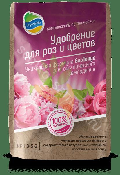 Удобрение для роз и цветов